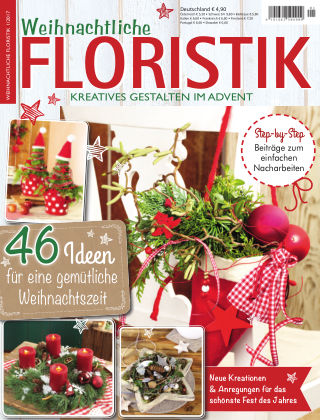 Weihnachtliche Floristik  01/2017