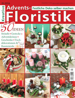 Kreative Advents-Floristik 01/2016