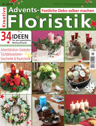 Kreative Advents-Floristik 01/2018