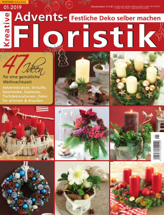 Kreative Advents-Floristik 01/2019