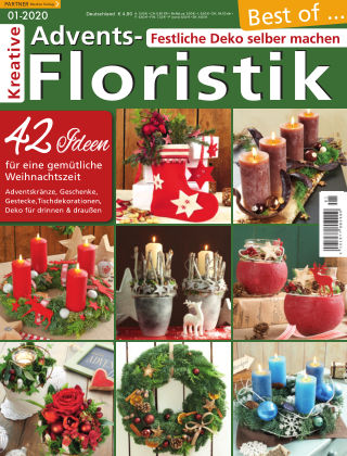 Kreative Advents-Floristik 01/2020