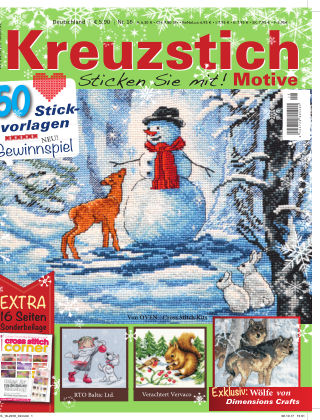 Kreuzstich Motive 16/2017