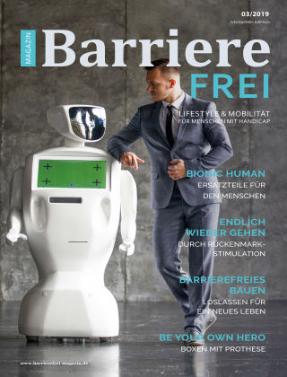 Magazin Barrierefrei März 2019