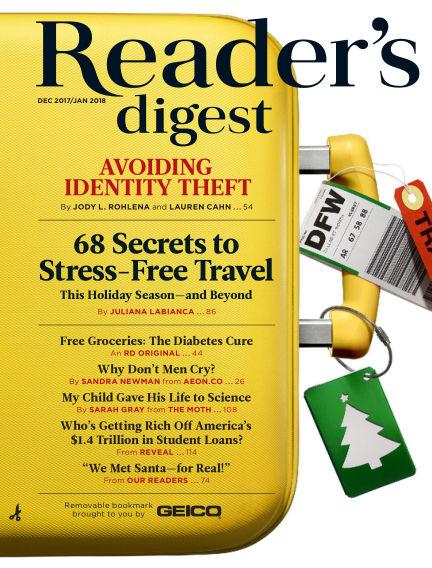 Reader's Digest November 21, 2017 00:00