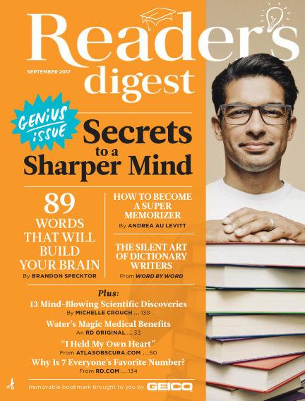Reader's Digest August 08, 2017 00:00
