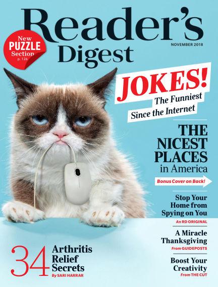 Reader's Digest October 23, 2018 00:00