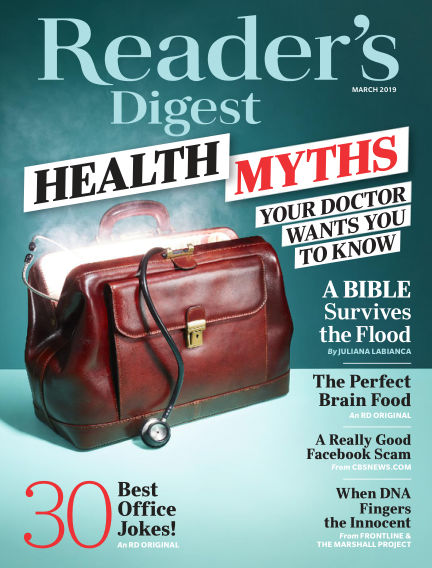 Reader's Digest February 19, 2019 00:00
