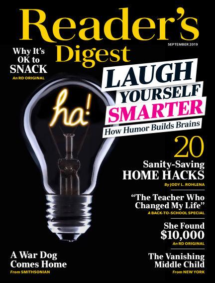 Reader's Digest August 13, 2019 00:00