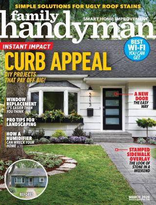 Family Handyman Mar 2020
