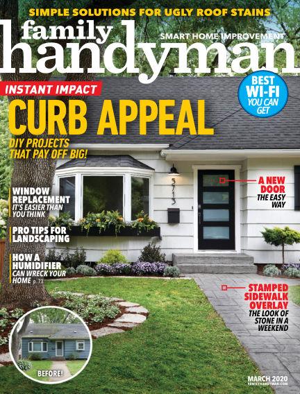 Family Handyman February 18, 2020 00:00