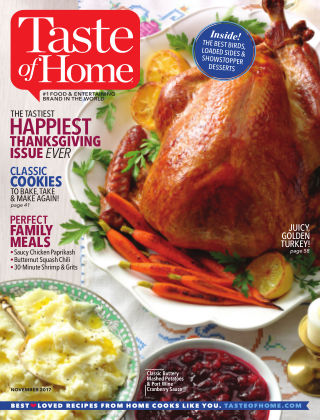 Taste of Home Nov 2017