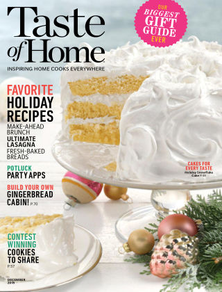 Taste of Home Dec 2018