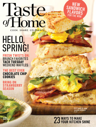 Taste of Home Apr-May 2019