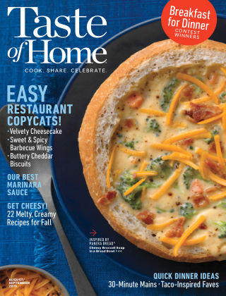 Taste of Home Aug-Sep 2019
