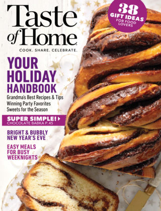 Taste of Home Dec-Jan 2020