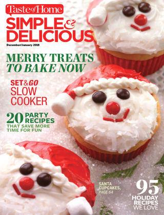Simple & Delicious Dec-Jan 2018