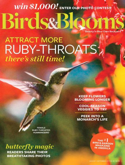 Birds & Blooms July 03, 2017 00:00
