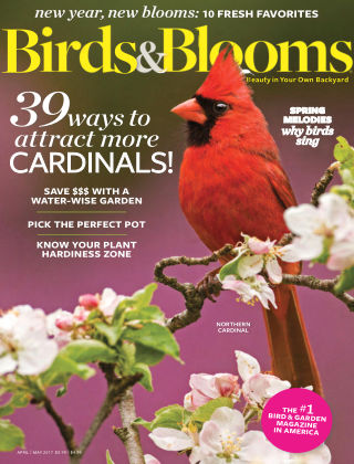 Birds & Blooms Apr-May 2017