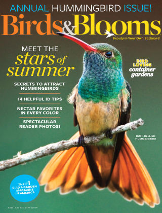 Birds & Blooms Jun-Jul 2017