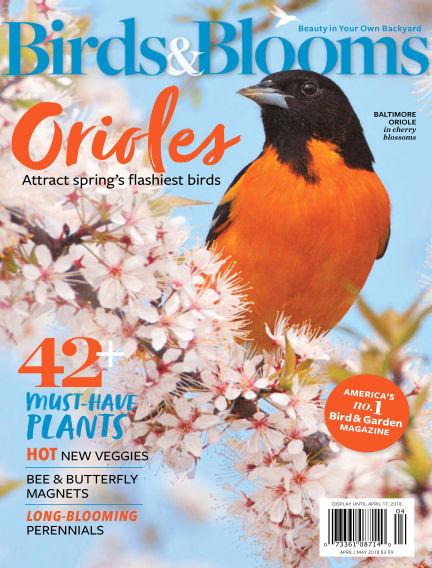 Birds & Blooms March 09, 2018 00:00