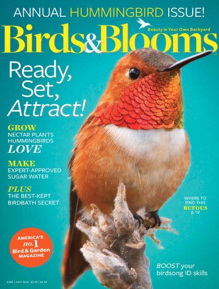 Birds & Blooms May 11, 2018 00:00