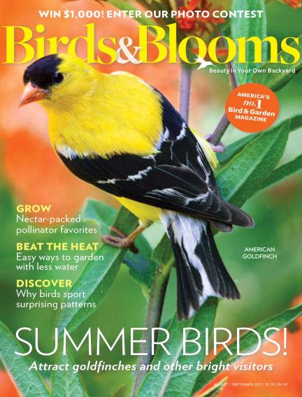 Birds & Blooms July 03, 2019 00:00