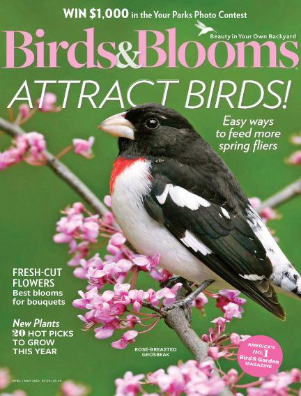 Birds & Blooms March 11, 2020 00:00