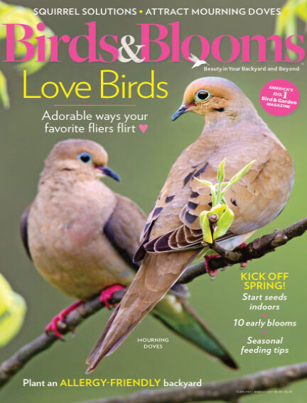 Birds & Blooms January 31, 2021 00:00