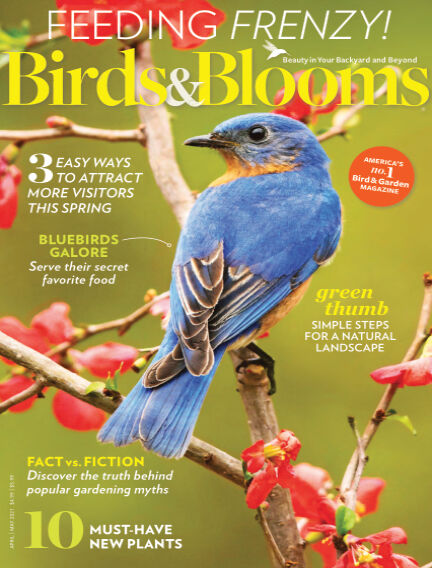 Birds & Blooms March 10, 2021 00:00