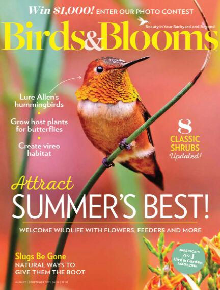 Birds & Blooms July 14, 2021 00:00