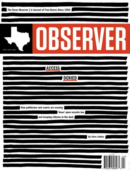 The Texas Observer April 01, 2018 00:00