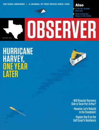 The Texas Observer August, 2018