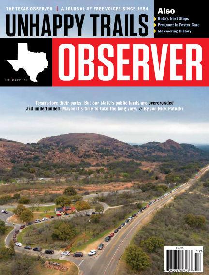 The Texas Observer December 01, 2018 00:00