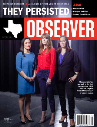 The Texas Observer Sept/Oct, 2019