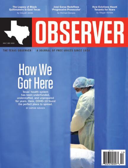 The Texas Observer November 01, 2020 00:00