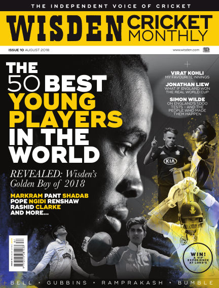 Wisden Cricket Monthly August 02, 2018 00:00