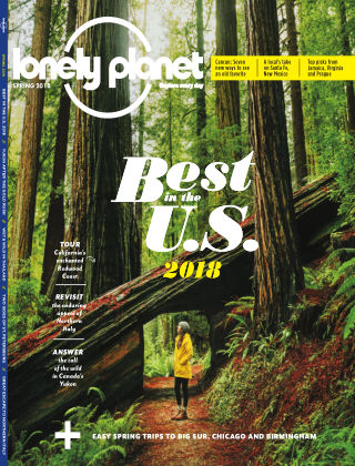 Lonely Planet Spring 2018