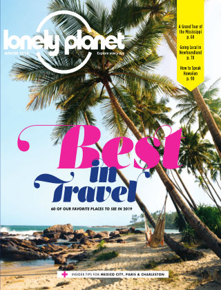 Lonely Planet Winter 2018