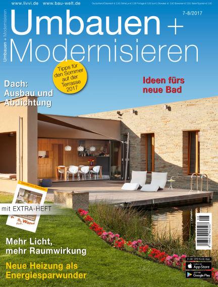 Umbauen + Modernisieren June 28, 2017 00:00