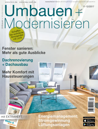 Umbauen + Modernisieren 11-12-2017