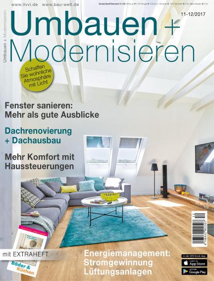 Umbauen + Modernisieren December 02, 2017 00:00