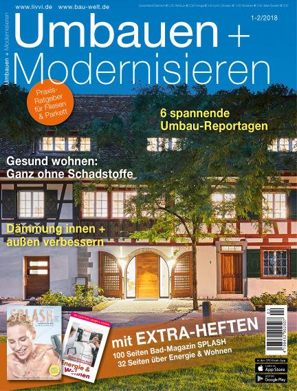 Umbauen + Modernisieren December 13, 2017 00:00