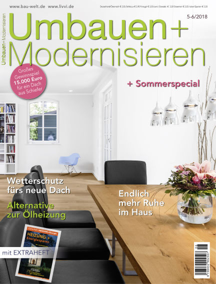 Umbauen + Modernisieren April 25, 2018 00:00