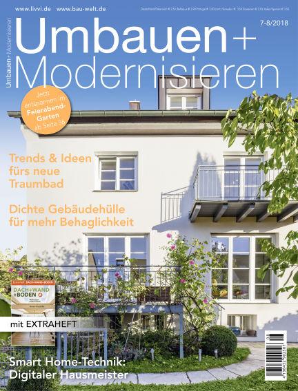 Umbauen + Modernisieren June 27, 2018 00:00