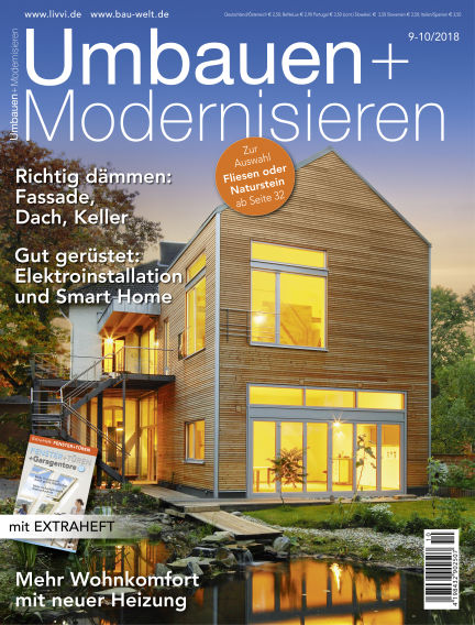 Umbauen + Modernisieren August 29, 2018 00:00