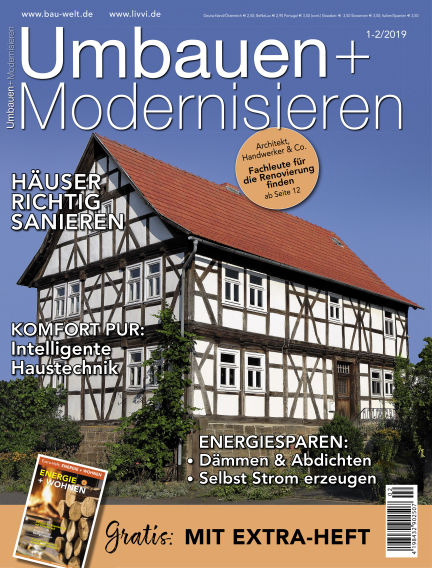 Umbauen + Modernisieren December 12, 2018 00:00