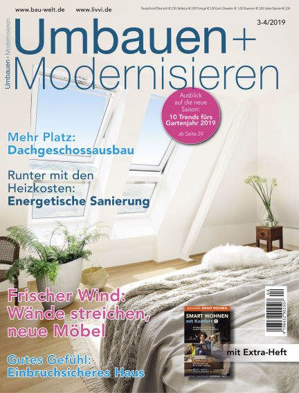 Umbauen + Modernisieren February 27, 2019 00:00