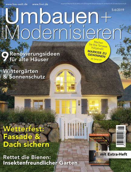Umbauen + Modernisieren April 24, 2019 00:00