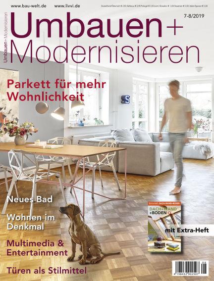 Umbauen + Modernisieren June 26, 2019 00:00