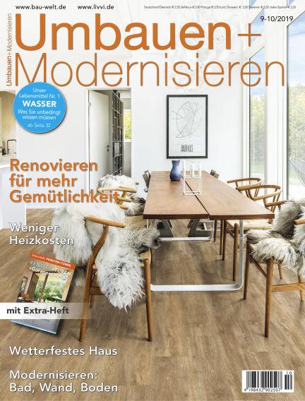 Umbauen + Modernisieren August 28, 2019 00:00
